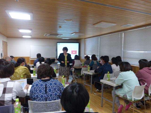 日本人介護職員研修